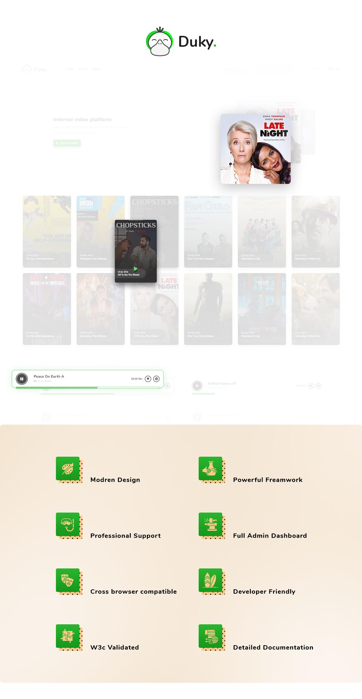 Duky - Movies & Music Platform - 2